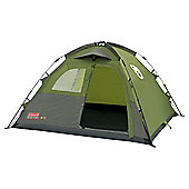 3-Man Instant Dome Tent - Green / Grey