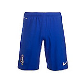 2014-15 South Korea Nike Home Shorts (Blue) - Blue