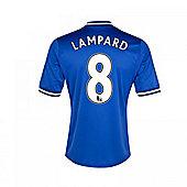 2013-14 Chelsea Home Shirt (Lampard 8) - Blue