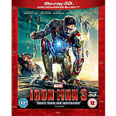 Iron Man 3 - 3D Blu-Ray / 2D Blu-Ray