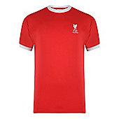 Liverpool 1973 No.7 Home Shirt - Red & White