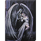 Anne Stokes Dance With Death Canvas Print