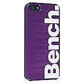 iPhone 5 Case Purple with White Logo