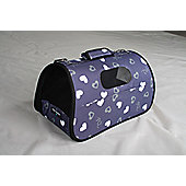 Eden.H Limited Heart Pet Carrier - Medium (25 cm H x 25 cm W x 43 cm D)