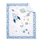 B Baby Bedding Space Dreamer Cot Bed Quilt