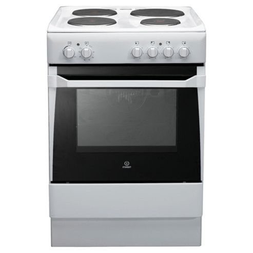 Indesit IS60E(W)S White Electric Cooker, Single Oven