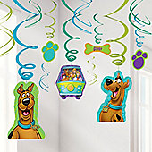 Scooby Doo Hanging Decorations - 60cm Hanging Swirls