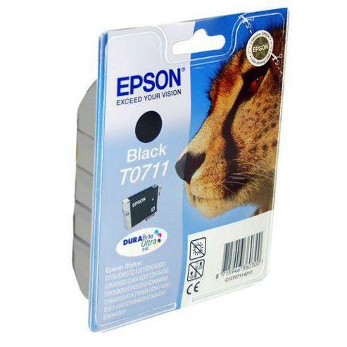 Epson 7.4 ml Original Ink Cartridge for Epson Stylus DX7000 Printer - Black