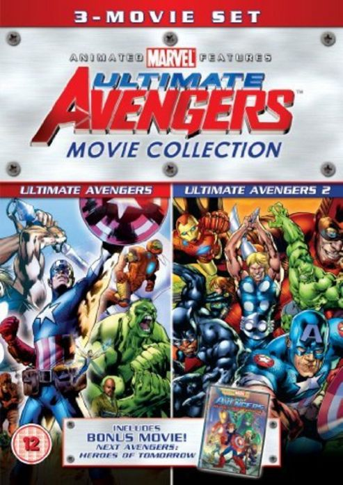 Ultimate Avengers - 3 Movie Collection (DVD Boxset)
