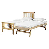 Saunton Trundle Bed - Oak