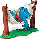Schleich Super Smurfs Smurf in Hammock