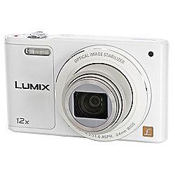 Panasonic DMC-SZ10 Camera White 16MP 12xZoom 2.7LCD 720pHD 24mm Lumix DC WiFi