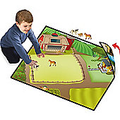 Neat Oh! 2 Sided Play Mat Farmland with 2 Farm Characters