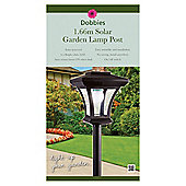 Dobbies Solar Lamp Post 1.66m