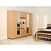 Ideal Furniture New York 4 Door Fitment - Oak