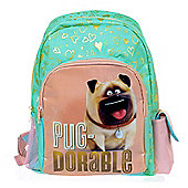 The Secret Life of Pets 'Pug-Dorable' with Pockets Backpack