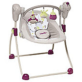Babymoov Bubble Baby Swing, Brown/Hibiscus