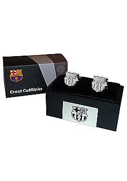 FC Barcelona Cufflinks - Silver