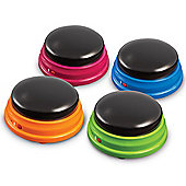 Learning Resources Set of 4 Recordable Answer Buzzers
