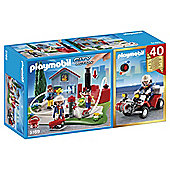 Playmobil Fire 40th Set