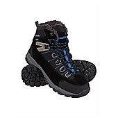 Winter Trekker Mens Boots - Grey