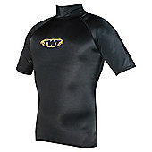 TWF UV Rash Vest Black XLG 42/44 chest