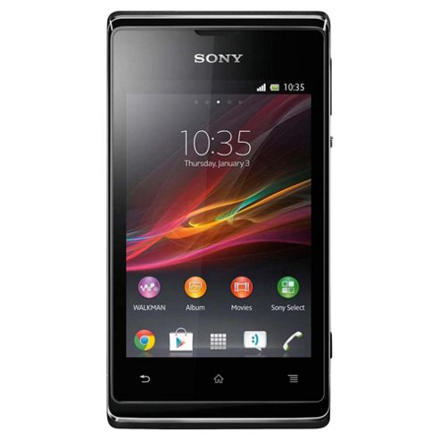 Tesco Mobile Sony Xperia™ E Black