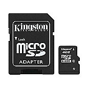 Kingston Micro SDHC Card 4GB