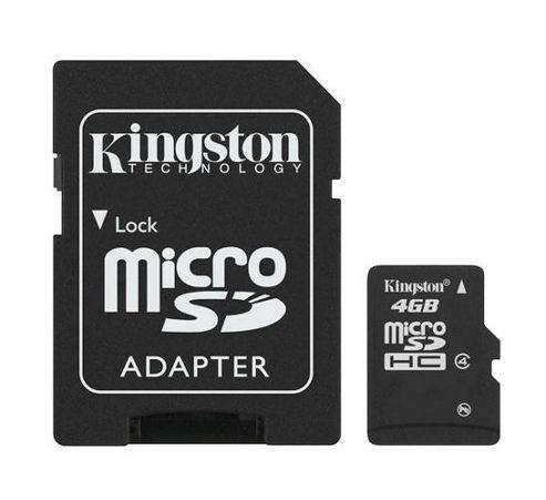 Kingston Micro SDHC Card 4GB