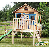 Redwood Den Wooden Playhouse