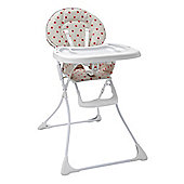 Tippitoes Dotti Highchair in Cream and Pink