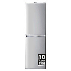 Hotpoint RFAA52S Freestanding Fridge Freezer, 54.5cm, A+ Energy Rating,  Silver