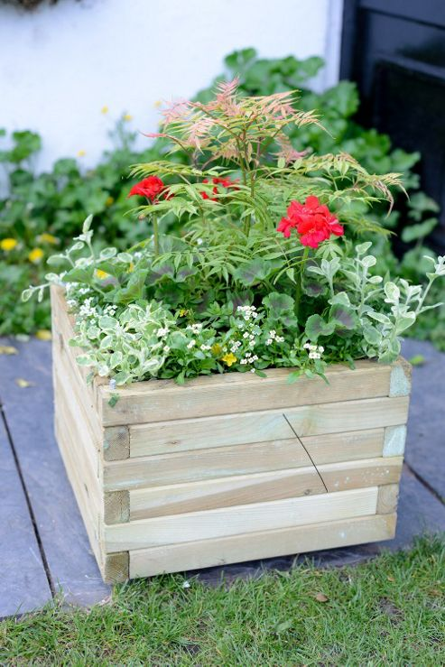 buy elite medium planter from our planters range tesco. Black Bedroom Furniture Sets. Home Design Ideas