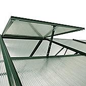 Nison EaZi-Click Greenhouse Roof Vent Kit in Dark Green