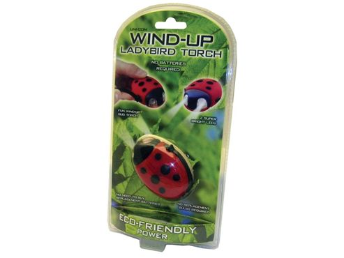 Unicom 57857 Wind Up Torch Ladybird