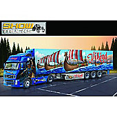 Volvo FH16 XL with Viking Reefer Trailer - 1:24 Scale - 3867 - Italeri