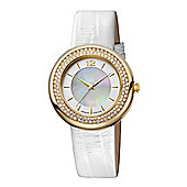 M-Watch Stones Ladies Mother of Pearl Dial Watch - A658.30617.20