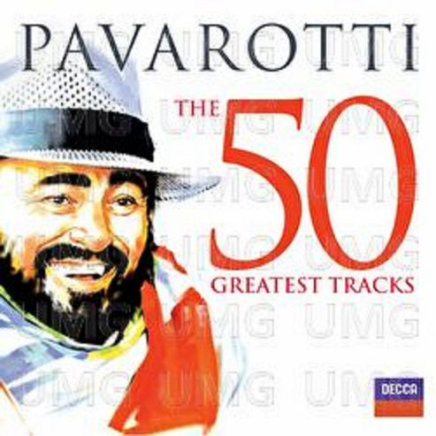 Pavarotti - The 50 Greatest Tracks.