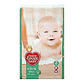 Tesco Loves Babyu/Dry Size 3 Midi Econ Pk 56