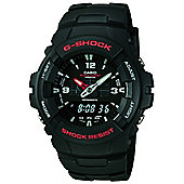 Casio G-Shock Mens Chronograph Dual Time Alarm Watch - G-100-1BVMUR