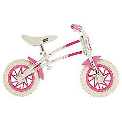 Townsend Duo Childs Balance Bike White & Pink