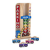 Melissa and Doug Stack and Count Parking Garage