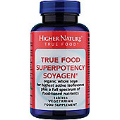 Higher Nature True Food Super Potency Soyagen 30 Veg Tablets