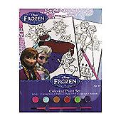 Disney Frozen Colouring Paint Set