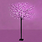 1.8m Outdoor LED Cherry Blossom Tree with 384 Pink LED's