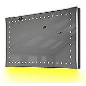 Ambient Ultra-Slim LED Bathroom Mirror With Demister Pad & Sensor K170Y