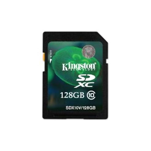 Kingston 128GB SDXC Flash Card (Class 10)