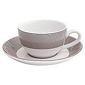 Fairmont & Main Solo Porcelain Tea Cup and Saucer