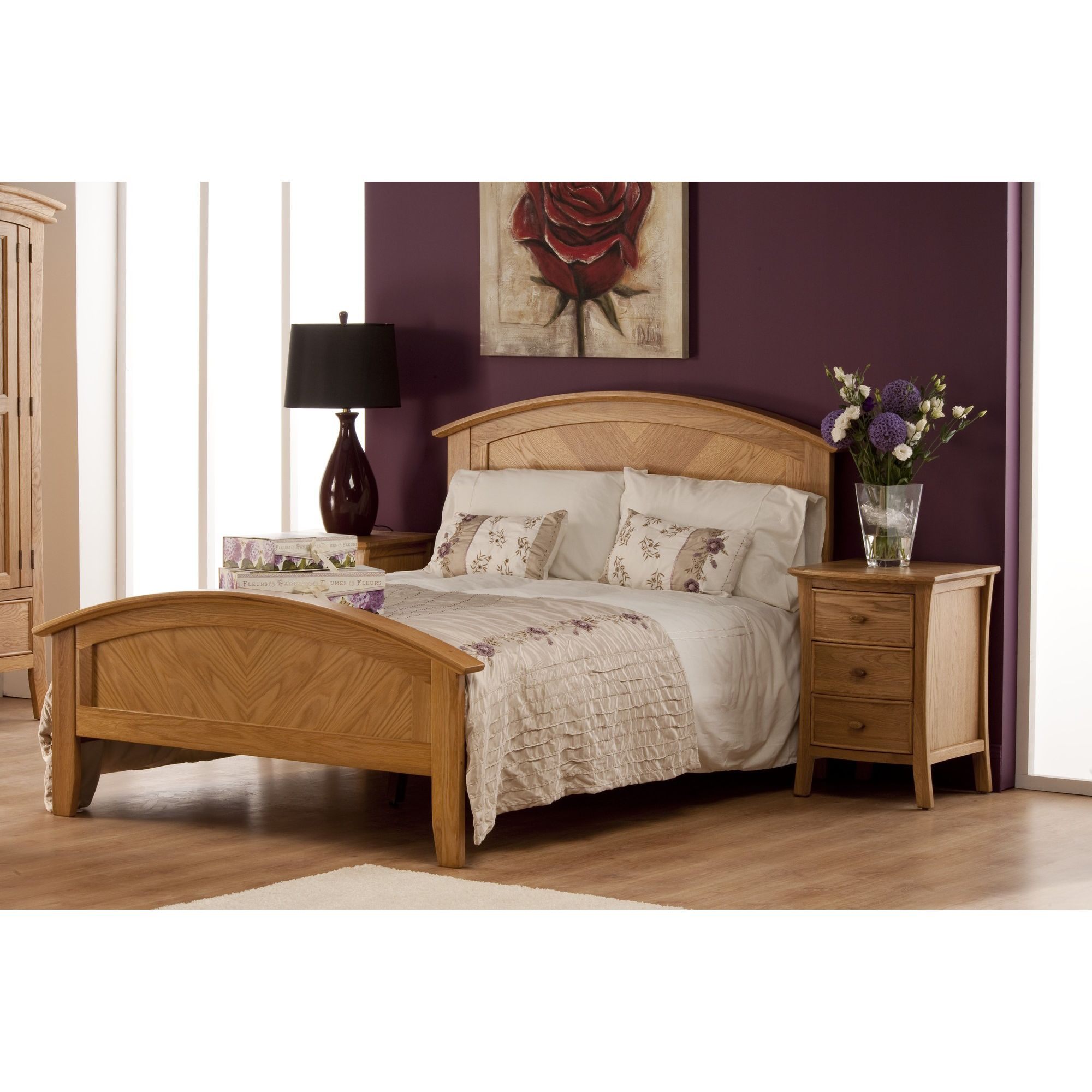 World Furniture Calgary Bed Frame - Double at Tesco Direct