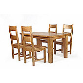 Wiseaction Florence 5 Piece Dining Set